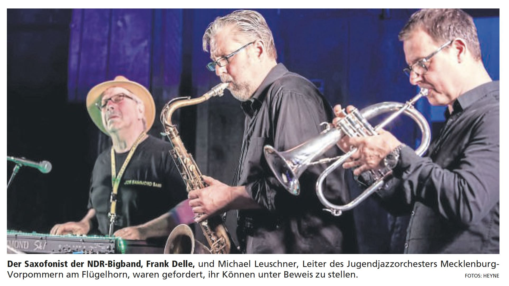 Jon Hammond Band - live at JustJazz Rotenburg